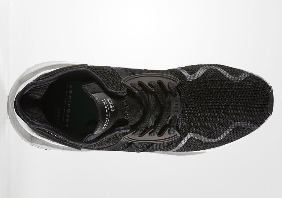 """official photos 67bf4 cd89d ... adidas EQT Cushion ADV """"Triple Black"""" Release Date November 29th, ..."""
