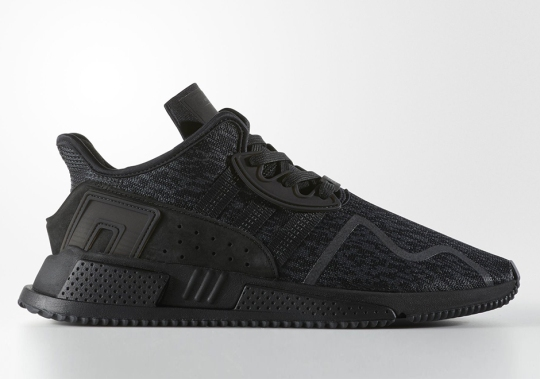 "adidas EQT Cushion ADV ""Triple Black"" Releasing On Black Friday"
