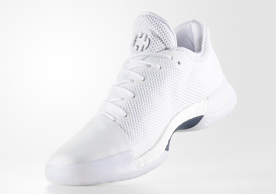 buy popular a5a7a e16b2 ... aliexpress adidas harden vol. 1 triple white release date august 19th  2017 6200f f64e5