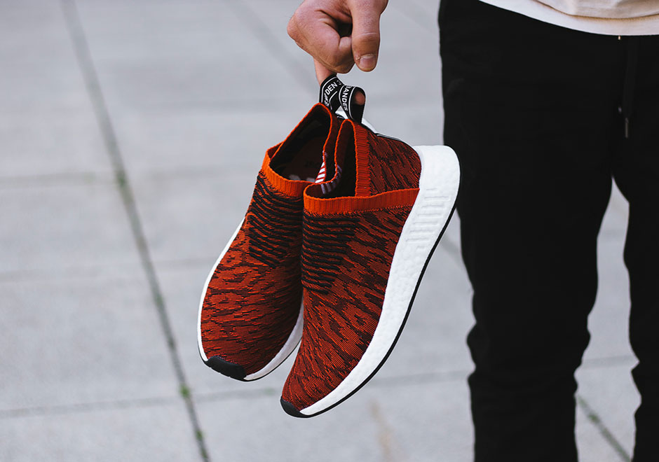 reputable site 5610e 7f1fe adidas NMD CS2 Release Date July 13th, 2017 180. Color Harvest RedCore  Black Style Code BY9406