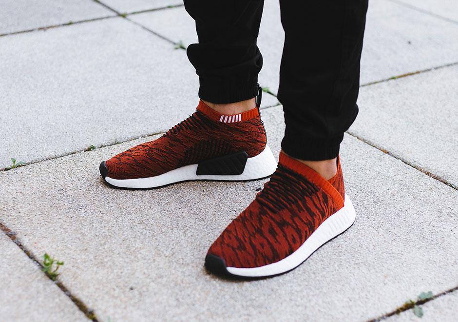 najniższa cena oficjalne zdjęcia wyprzedaż w sklepie wyprzedażowym adidas NMD CS2 Harvest Red BY9406 | SneakerNews.com