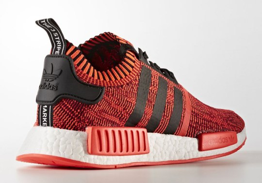 "adidas NMD R1 Primeknit ""Red Apple 2.0"" And More Coming In 2017"