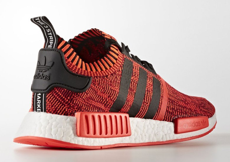 adidas nmd r1 primeknit red apple 2 0 and more colorways. Black Bedroom Furniture Sets. Home Design Ideas
