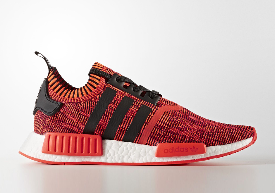 237346aeedab3 adidas NMD R1 Primeknit Red Apple 2.0 And More Colorways ...
