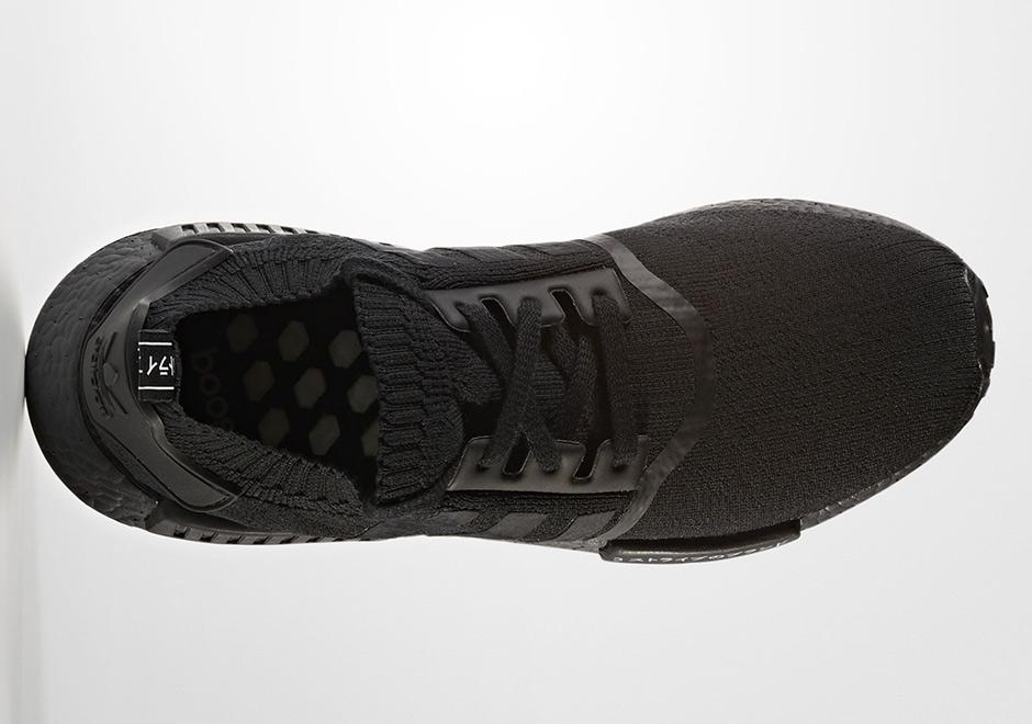 c0d89f486 adidas Originals NMD R1 PK Primeknit Bb2887 Size 12 Tricolor Black