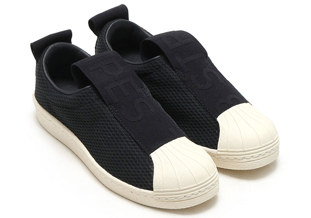 size 40 bbcdc 0443d adidas Superstar Slip-On Mesh BY9138 | SneakerNews.com