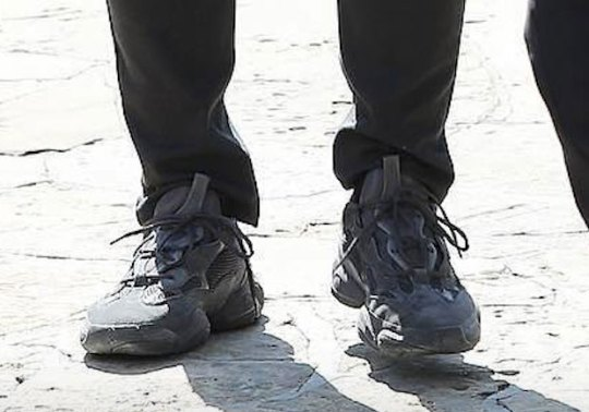 Kanye West Reveals Never-Before-Seen Black adidas YEEZY Runner