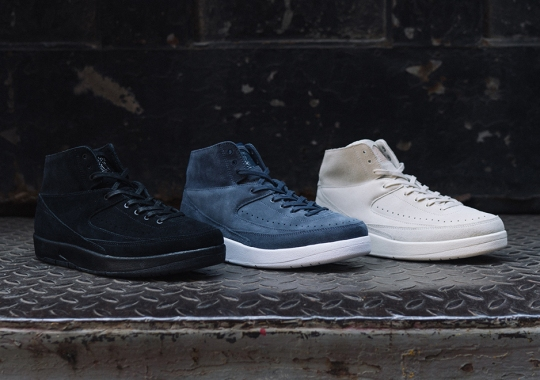 The Air Jordan 2 Decon Releases In Three Tonal Suede Options This Weekend