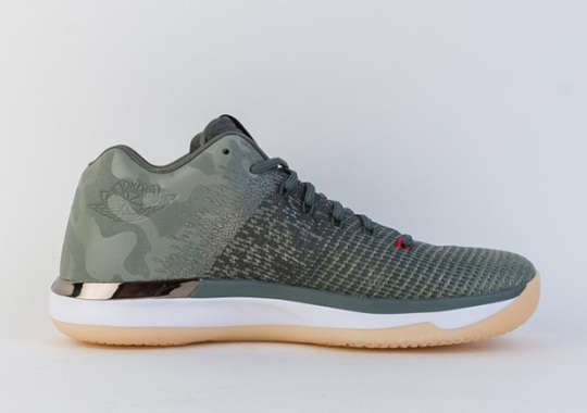 "Air Jordan 31 Low ""Camo"" Releasing Soon"