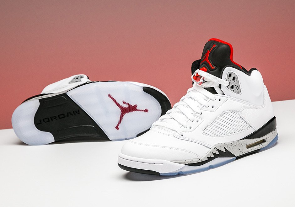 5 Early Stadium Air Cement White Available At Jordan Goods dtsQxBhrC