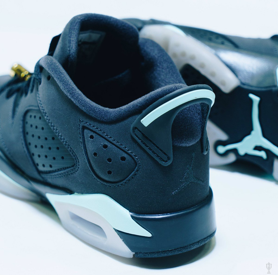 1ec4f9bfc4dd Air Jordan 6 Low Mint Foam Release Date 768878-015