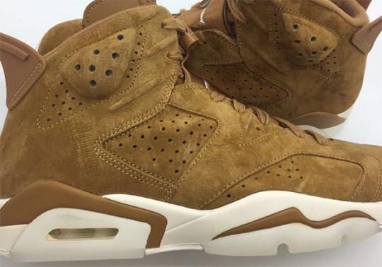 "Air Jordan 6 ""Wheat"" In Premium Suede Revealed"