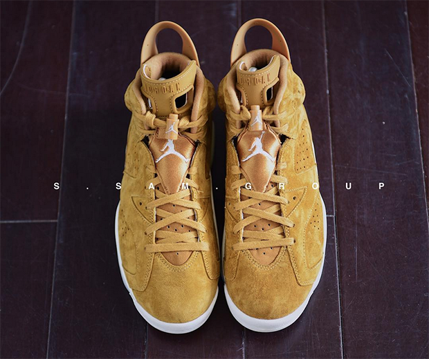 "2345bec0a4e33f Air Jordan 6 Retro ""Wheat"" Release Date  November 21st"