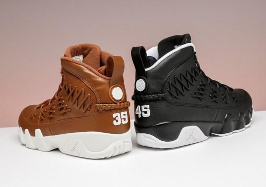 "Air Jordan 9 ""Baseball Glove"" Releasing Tomorrow At Stadium Goods For Retail"