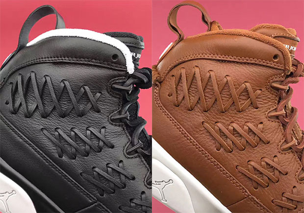 "best website 681f0 b9b0a The Air Jordan 9 Pinnacle ""Baseball Glove"" Pack Releases Worldwide On July  15th"