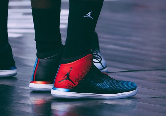 New Jordan PE Footwear Revealed At The QUAI 54 Tournament