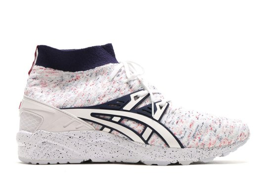 """ASICS Adds """"Birthday Cake"""" Knit Uppers To The GEL-Kayano Trainer"""