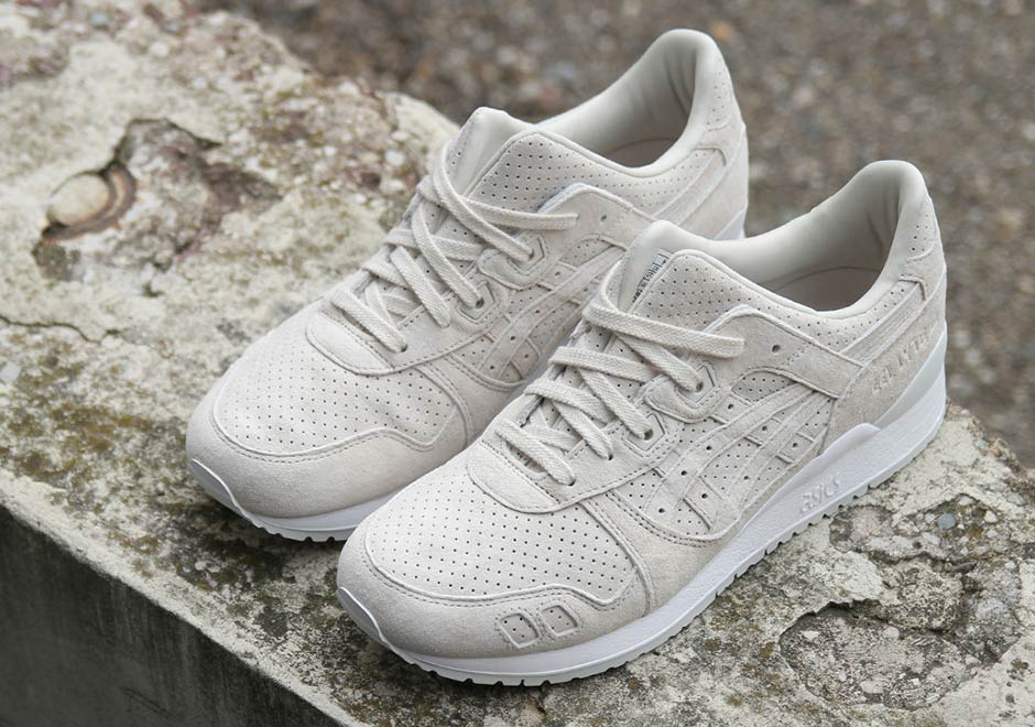 "8d62c568f53c ... recent tonal suede upper and white sole color scheme we ve seen  recently for the ASICS GEL-Lyte III in ""Skyway"" and ""Aluminum"""