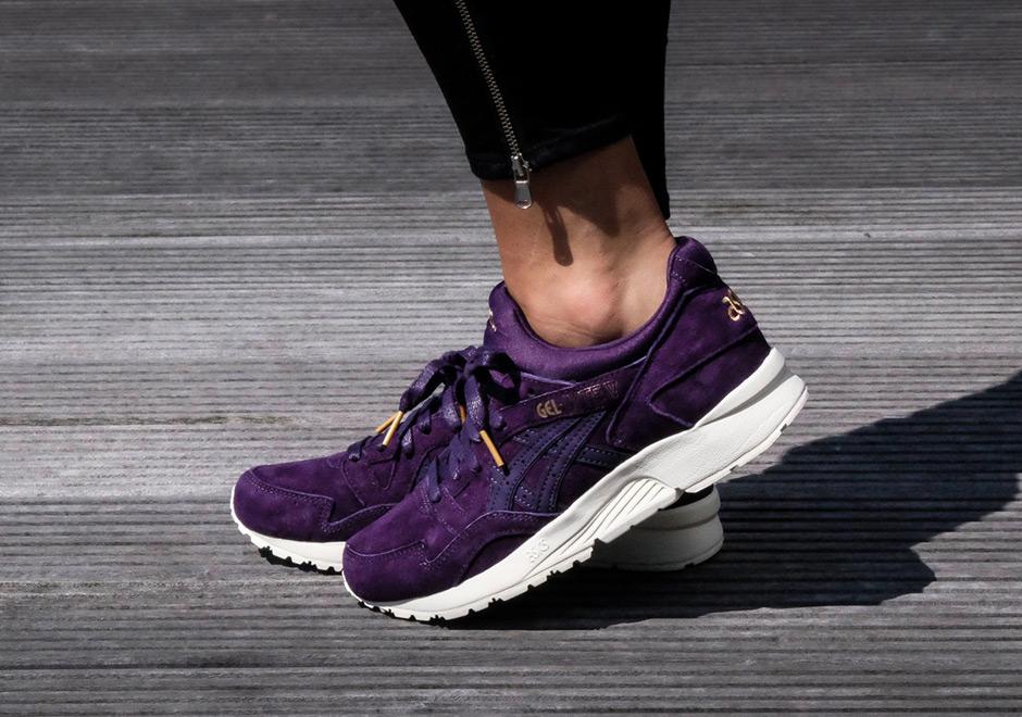 ASICS GEL-Lyte V Purple Suede Gold