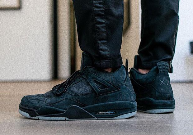 size 40 0ea16 c6f17 Another KAWS x Air Jordan 4 In Black Rumored For 2018 Release