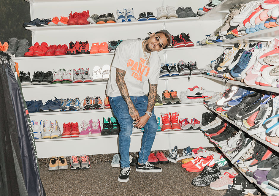 Most Celebrity Sneaker Closets Deal In The Present U2013 The Latest Exclusive  Collaborations And Other Unattainable Footwear Options Each As Pristine As  The ...