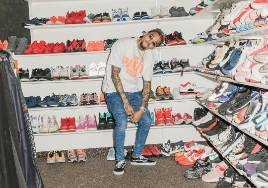 Chris Brown's Sneaker Closet Is What All Celebrity Sneaker Closets Should Be
