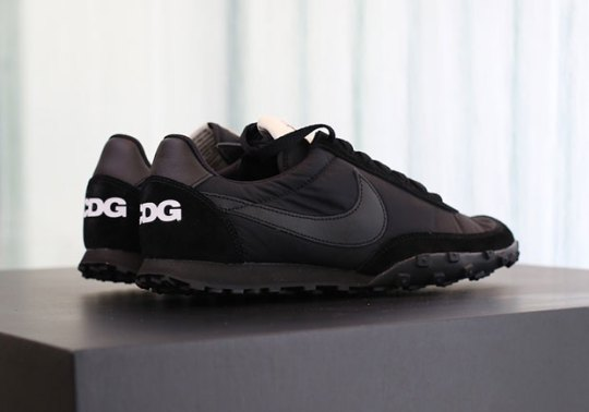 COMME des Garçons BLACK Revives One Of Its Oldest Nike Collaborations With The Waffle Racer