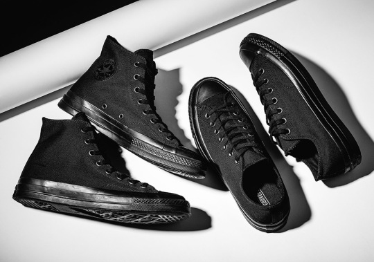 """Converse Offers Up The Chuck Taylor 1970s In """"Triple Black"""""""