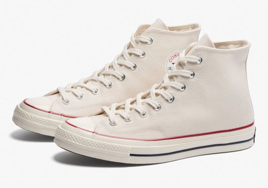 """The Converse Chuck Taylor Hi 1970s Releases In Classic """"Parchment"""""""