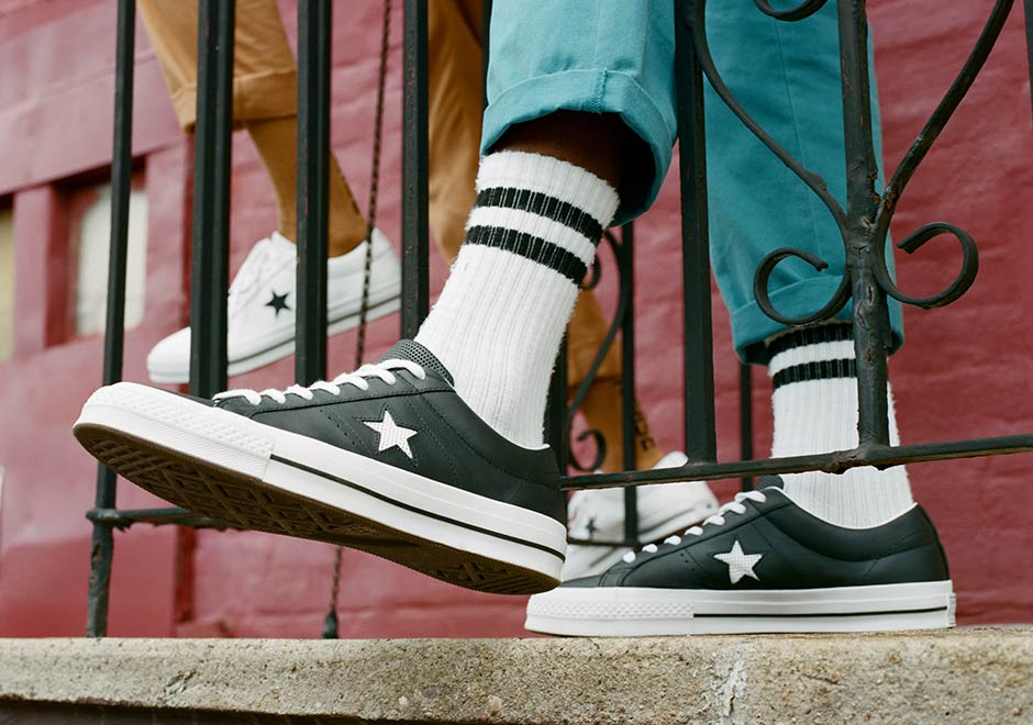 8fb35e6230d Converse One Star Perforated Leather Pack
