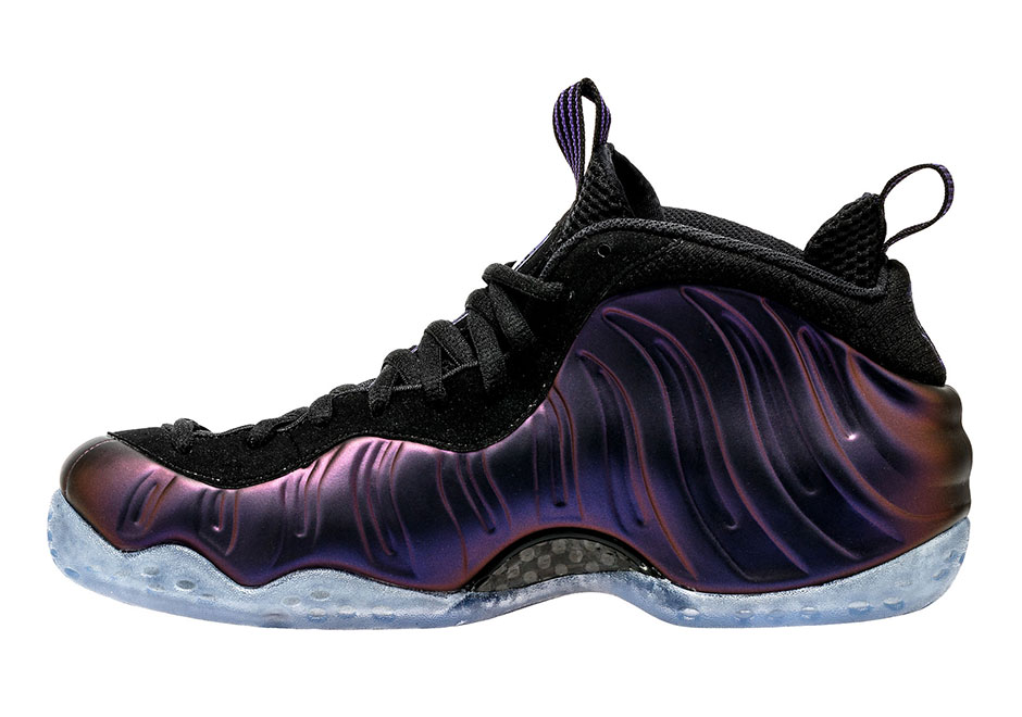 "wholesale dealer a3332 9f12f Nike Air Foamposite One ""Eggplant"" Release Date  July 29th, 2017  230.  Color  Varsity Purple Black Style Code  314996-008. Advertisement"