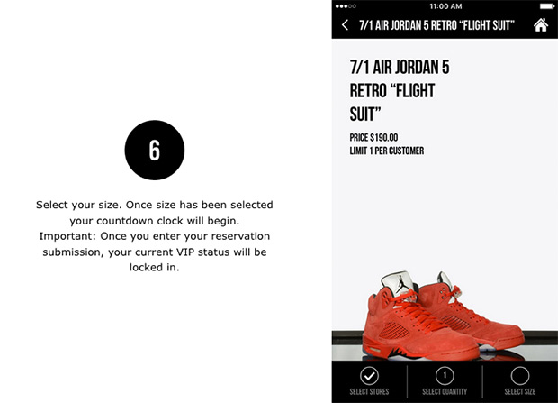 Foot Locker App Sneaker Reservation How-To Guide | SneakerNews com