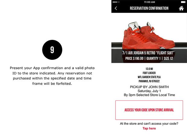 Foot Locker App Sneaker Reservation How To Guide Sneakernewscom