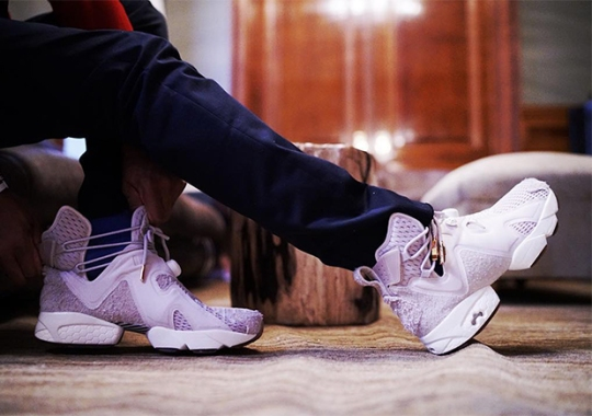 Future Offers Up A Closer Look At His Reebok Shoe