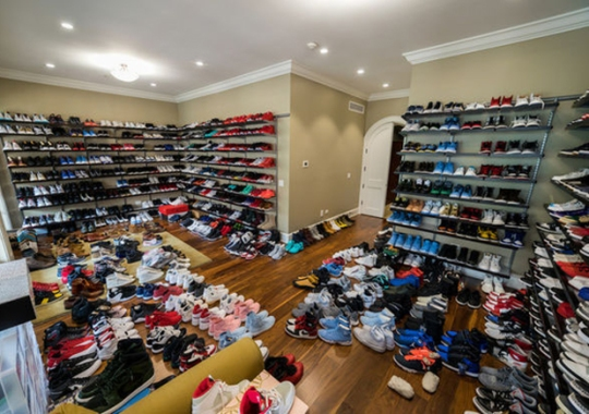 Jimmy Butler Is Selling His Chicago Mansion With Massive Sneaker Closet