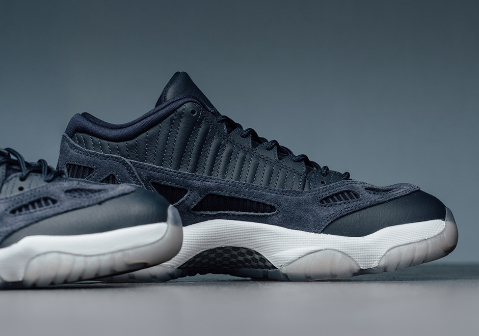 c5424c692ca Air Jordan 11 IE Low Release Date: July 29th, 2017 $170. Color: Midnight  Navy/White Style Code: 919712-400