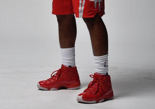 438d3a6a899 Chris Paul Jordan 11 Houston Rockets PE | SneakerNews.com