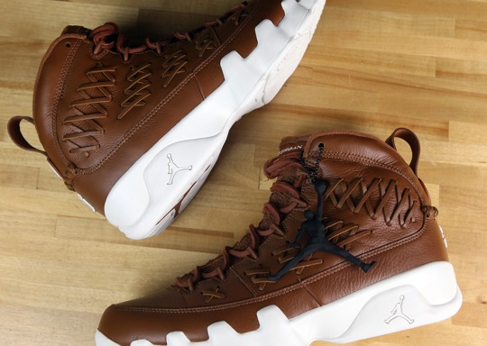 """What To Know About The Upcoming Air Jordan 9 """"Baseball Glove"""" Release"""