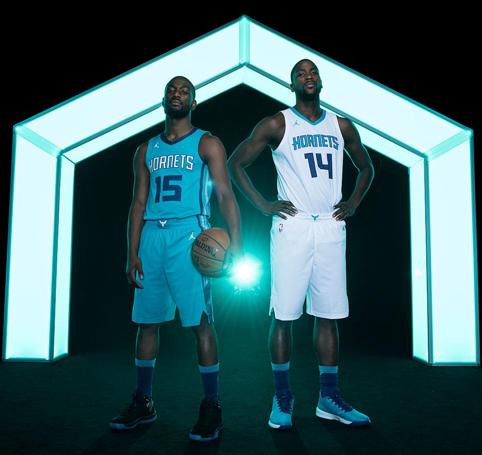 a8ef2b2c89a Jordan Charlotte Hornets NBA Uniforms 2017 2018 Season | SneakerNews.com