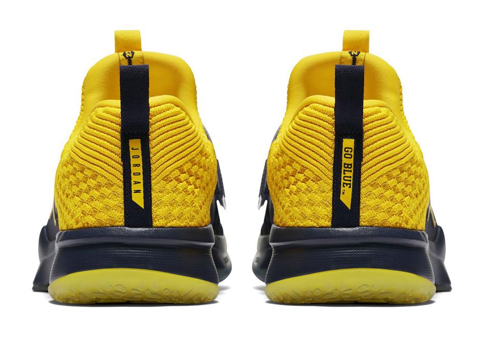 uk availability a608b 939c7 Jordan Trainer 2 Flyknit Michigan Release Date   SneakerNews.com
