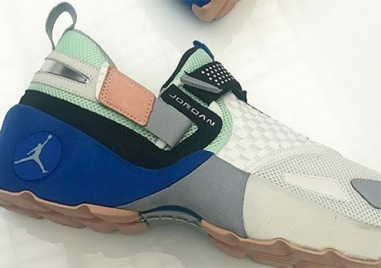 Travis Scott Reveals New Jordan Trunner LX Colorway