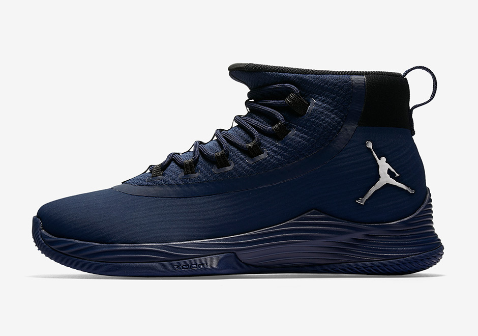 new concept c4d0c ea8a0 Jordan Ultra Fly 2. AVAILABLE ON Nike.com  125. Color  Midnight  Navy Black Metallic Silver