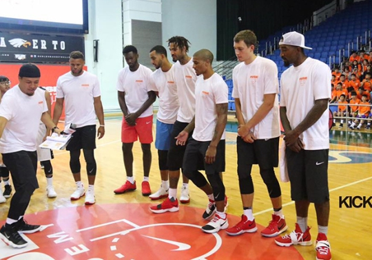 JR Smith Flexes On LeBron James With Nike LeBron 14 PE