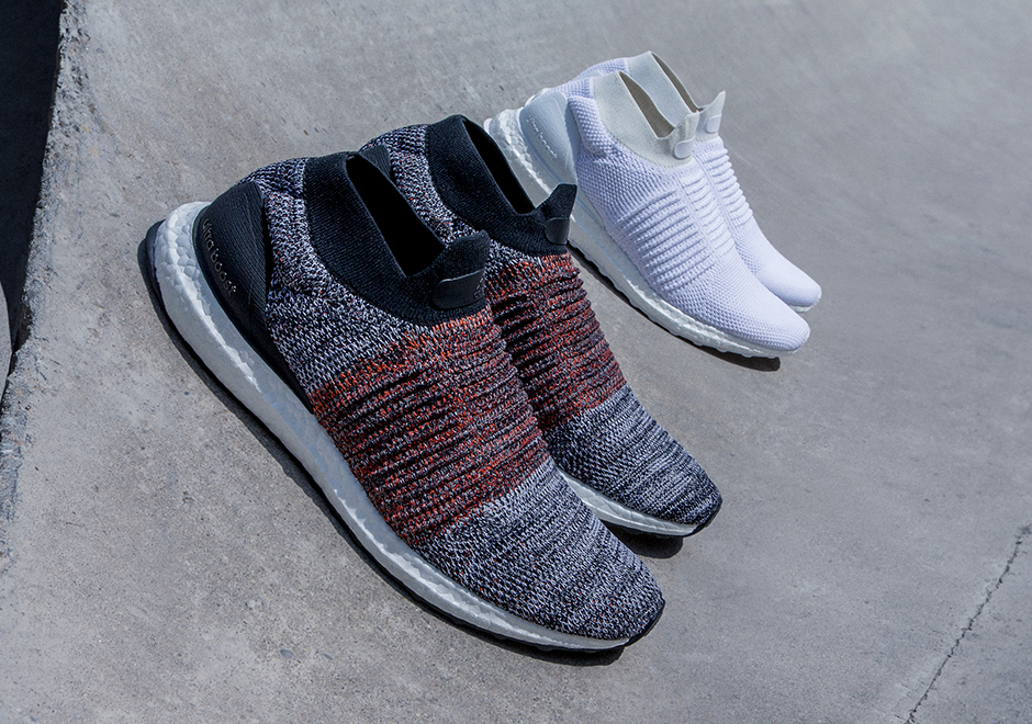 Today adidas unveils the Ultra Boost Laceless, the brand's first-ever  laceless performance shoe. Obviously a model that will be embraced by the  ...