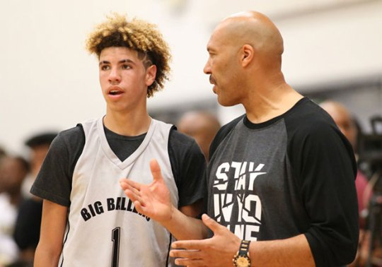 LaMelo Ball May Have His Own Big Baller Brand Signature Shoe