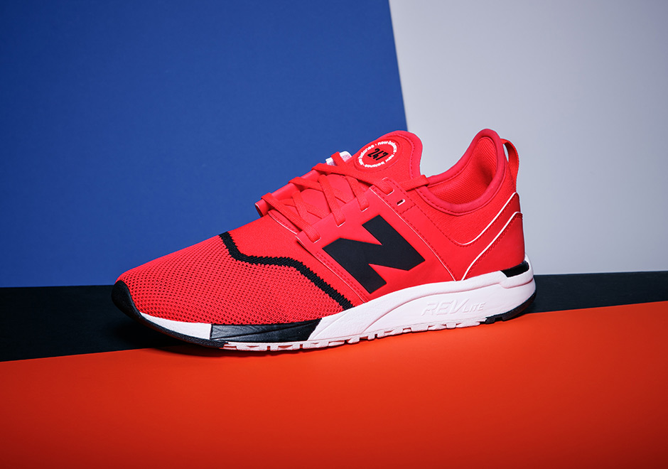 new balance 247 grey red