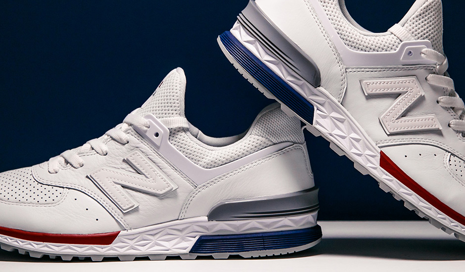 online store be90f d28c3 Up Close With The New Balance 574 Sport Details ...