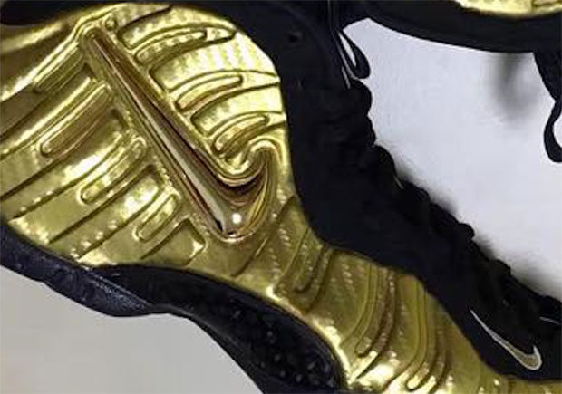 Gold Carbon Fiber Is Coming To The Nike Air Foamposite Pro