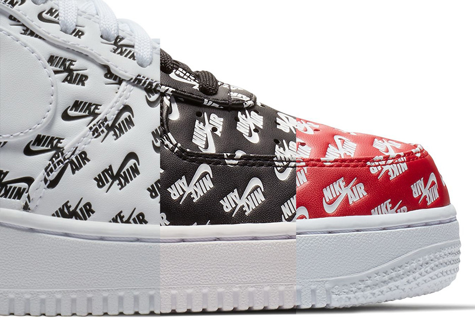 "the best attitude 1a27f b108f Update Nike Air Force 1 Low ""Logo"" releases on September 8th."