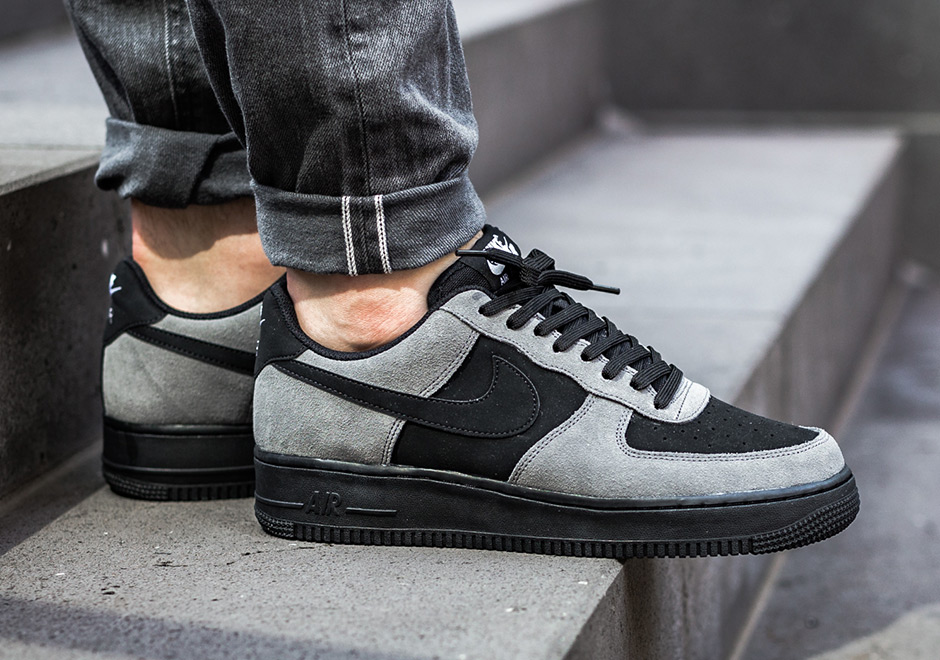 size 40 d1a0e 8d328 Nike Air Force 1 Low Color Dark GreyBlack-White-Black